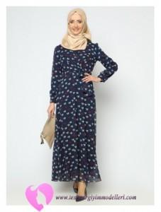 Modanisa Büyük Beden Elbise Modelleri-79