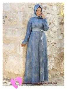 Modanisa Büyük Beden Elbise Modelleri-92