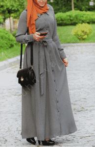 Sunheva Tesettür Elbise