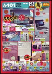 A101 25 Şubat Elektronik Katalog