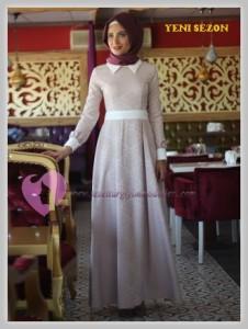 Nurbanu Kural Tesettür Elbise Modelleri-02