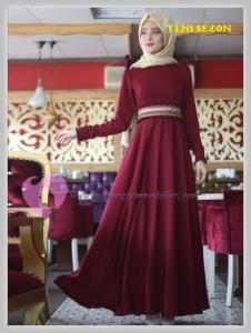 Nurbanu Kural Tesettür Elbise Modelleri-05