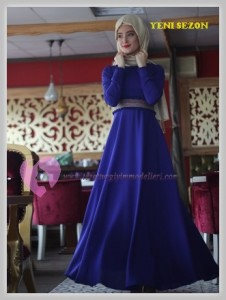 Nurbanu Kural Tesettür Elbise Modelleri-06