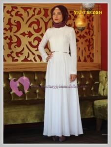 Nurbanu Kural Tesettür Elbise Modelleri-09