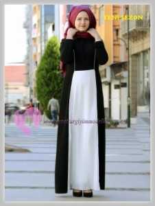 Nurbanu Kural Tesettür Elbise Modelleri-12