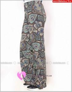 Benin Desenli Pantolon