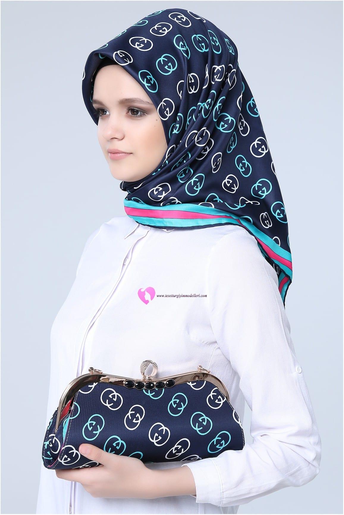 En Şık Eşarp Çanta Modelleri