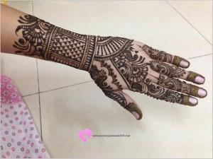 En Güzel Hint Kınası Modelleri