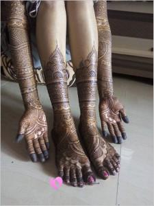 Hint Kınası Modelleri