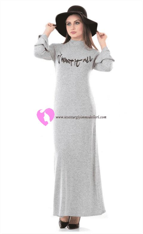 Dide Baskılı Salaş Elbise