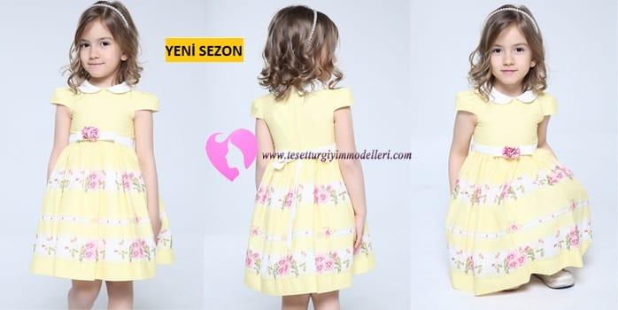 Kız Çocuğu İçin Elbiseler