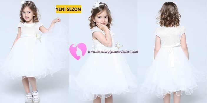 Kız Çocuğu Gelinlik Modelleri