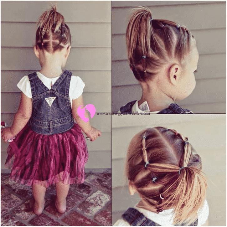 Kız Çocuğu Saç Örgüleri