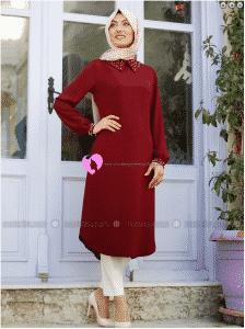 Nurkombin Tesettür Elbise