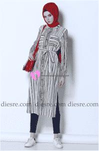 Pierre Cardin Tesettür Tunik Tasarımları
