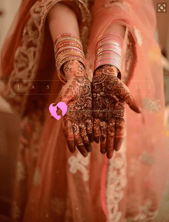düğünde hint kınası modası