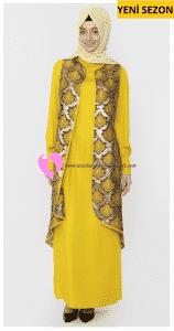 Şık Tasarım Tekbir Elbise