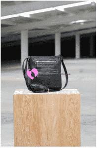 Tekbir Siyah Deri Çanta