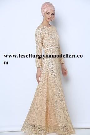 Tozlu Abiye Elbise