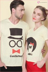 Çiftler İçin Tişört