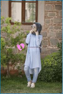 Minel Aşk Önü Kısa Arkası Uzun Tunik