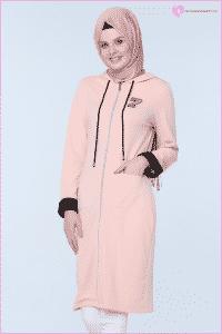 Pudra Renk Tunik Modelleri