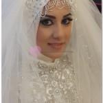 Tesettürlü Gelinin Düğün Makyajı