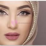 Tesettürlü Gelinlerin Makyaj Modelleri