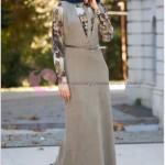Desenli Tesettür Günlük Giyim Modelleri