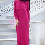 Pileli Uzun Elbise Modelleri