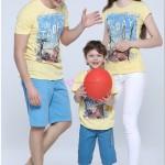 Tozlu Aile Boyu Tişört Modelleri
