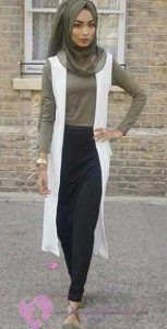 Tesettürlü Kısa Boylu Bayan Nasıl Giyinmeli