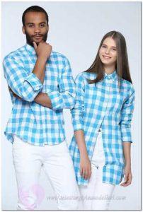 Tozlu Çiftlere Özel Kombin Gömlek