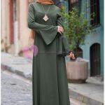 Diesre Haki Renk Elbise