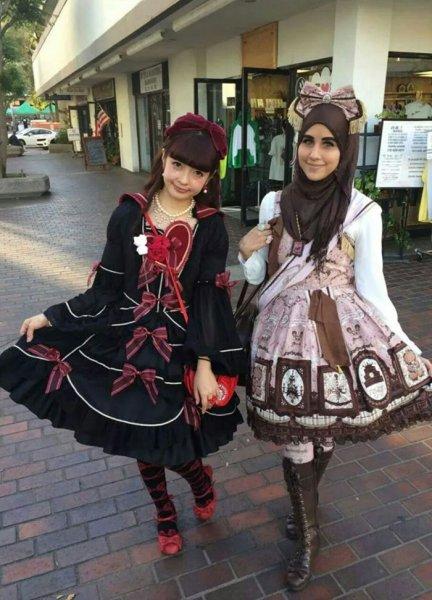 Japon Tesettür Giyim Modelleri