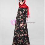 Alvina Çiçekli Elbise Modelleri
