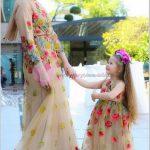 Anne Kız Abiye Elbise