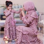 Anne Kız Aynı Giyim