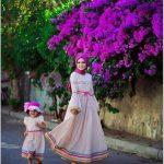 Anne Kız Dış Çekim Pozları