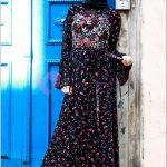 Çiçek Desenli Diesre Elbise