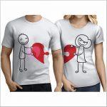 Çift Tişörtleri Tasarla
