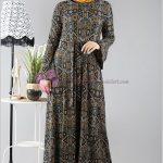 Diesre Etnik Desen Elbise