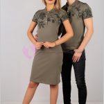 En Güzel Tişört Elbise Çift Kombin