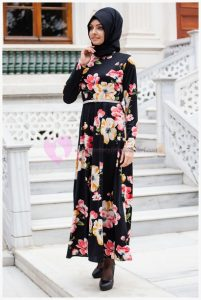 Sedanur Çiçekli Elbise