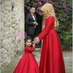 Tesettürlü Annelerin Çocuklarıyla Dış Çekim Fotoğrafları