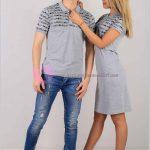 Tişört Elbise Karı Koca Kombin
