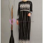Modaperiy Elbise Modelleri Çizgili