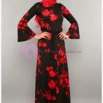 Modaperiy Elbise Modelleri Çiçek Desenli