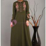 Modaperiy Elbise Modelleri Haki