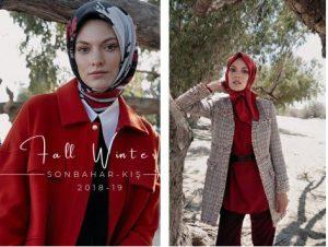 2018 2019 Tesettür Giyim Modelleri